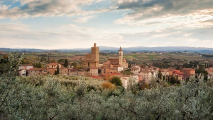 Village of Vinci in Tuscany