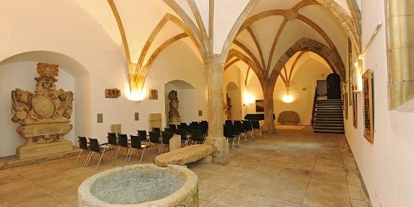 Der Kapitelsaal im StadtMuseum Pirna ist Schauplatz vieler Veranstaltungen.