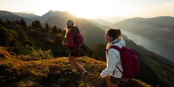 Abendlicht auf der 7-Gipfel-Tour