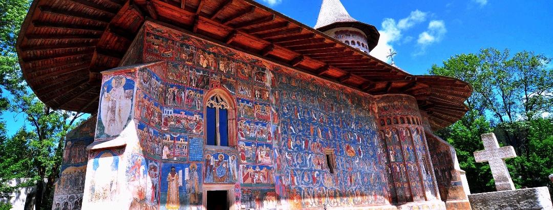 Biserica Sfântul Gheorghe din incinta Mănăstirii Voroneț