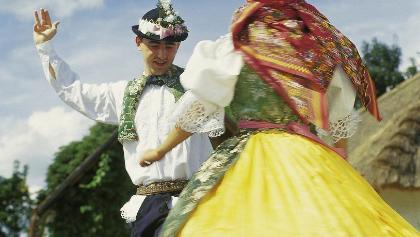 Skanzen Strážnice - folklorní festival