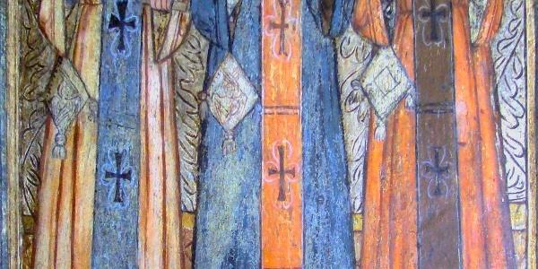Sfinții Trei Ierarhi Biserica de lemn din Budești Josani
