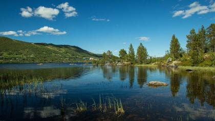 Ustedalsfjorden near Geilo