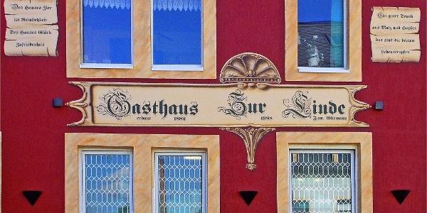 """Vorderfront Gasthaus """"Zur Linde"""" Freital-Birkigt"""
