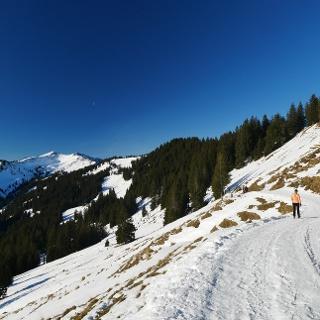 Winterwanderweg zum Riedberger Horn
