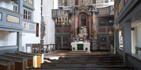 Innenansicht der George-Bähr-Kirche