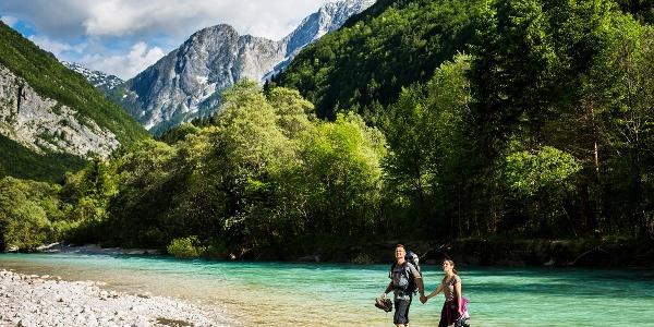 Soča Fluss, Slovewenien