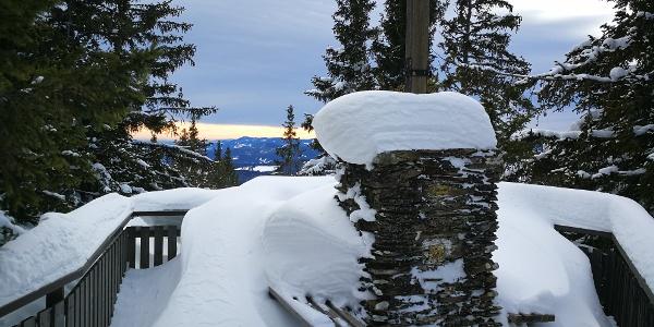 Gipfel Hauereck