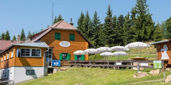 Schutzhütte Masenberg, Aussenansicht