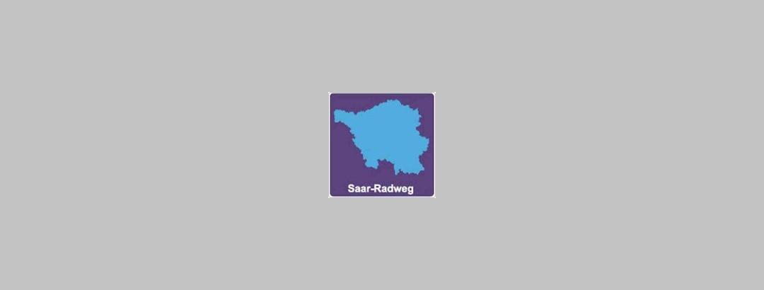 Track Sign - Saar Cycle Trail