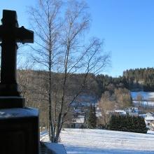 Kreuz am Kirchweg, Wirme