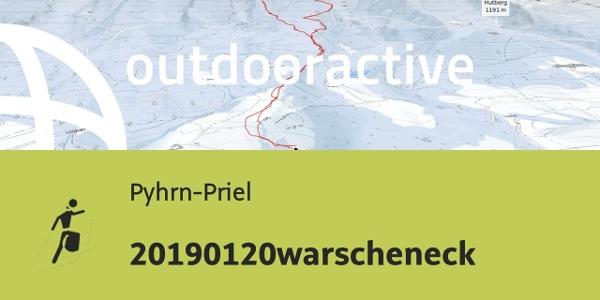 Skitour in Pyhrn-Priel: 20190120warscheneck