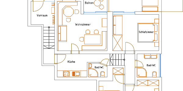 ApartmentDielWohnungsplan
