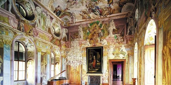 Zámek Milotice - interiér