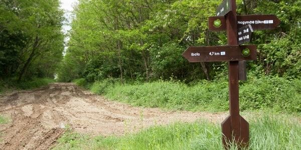 Útjelző tábla a Postás úton
