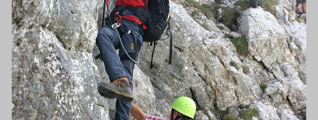 Klettersteig Kaiserschild