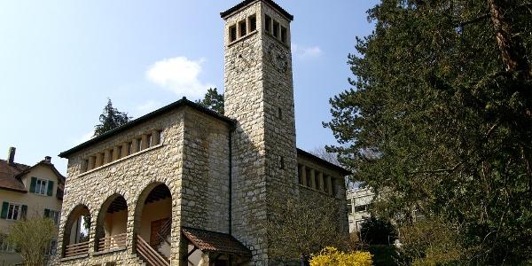 Reformierte Kirche in Moutier.
