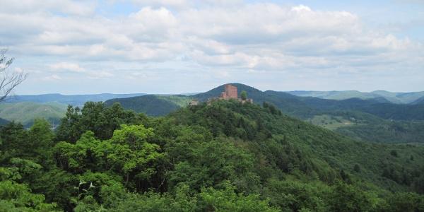 Blick auf Burg Trifels