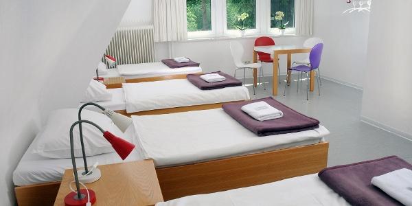 Economy-Zimmer im Lila Haus