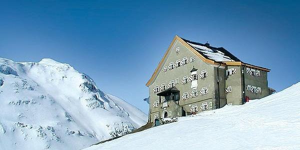 Hochjoch Hospiz Winter