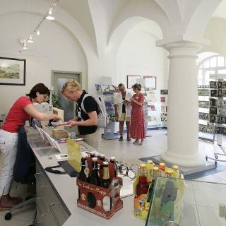 Innenbereich der Torgau Information