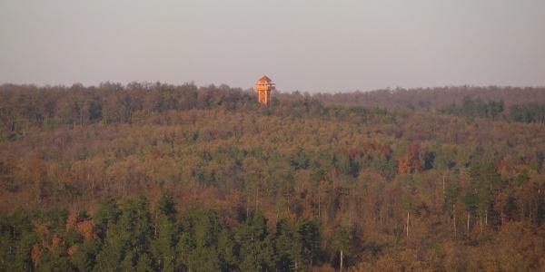 Látkép a Berzsenyi kilátóból (Pad-kő kilátó)