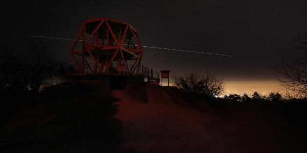 Hármashatár-hegy, Guckler-kilátó