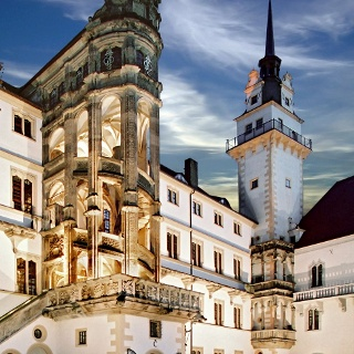 Schloss Hartenfels mit Hausmannsturm