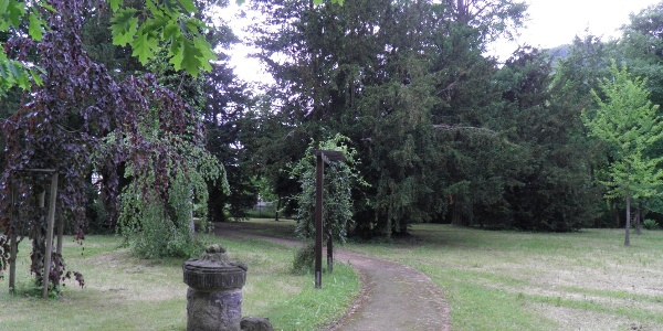 Opfersäule im Park Heilsberg