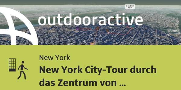 Stadtrundgang in New York: New York City-Tour durch das Zentrum von Manhattan