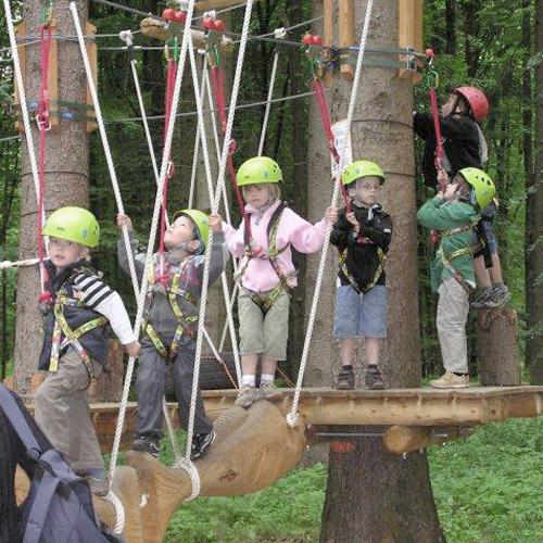 Freizeitpark Rutesheim • Hochseilgarten » outdooractive.com