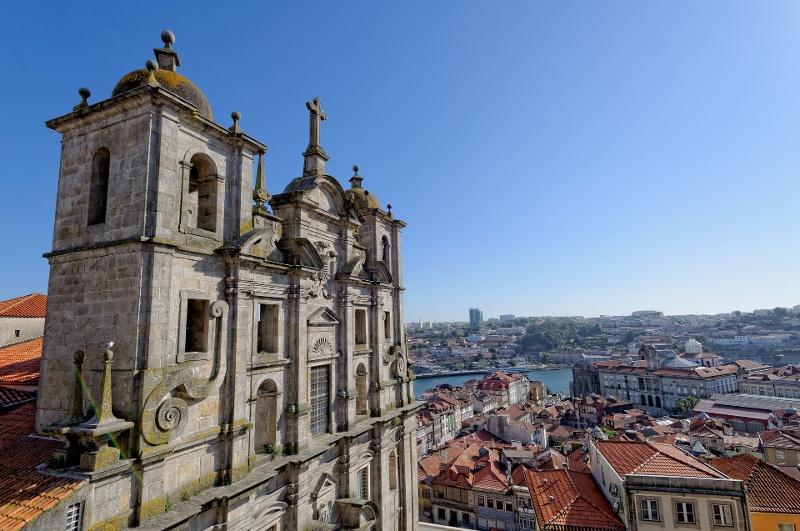 Blick über Porto
