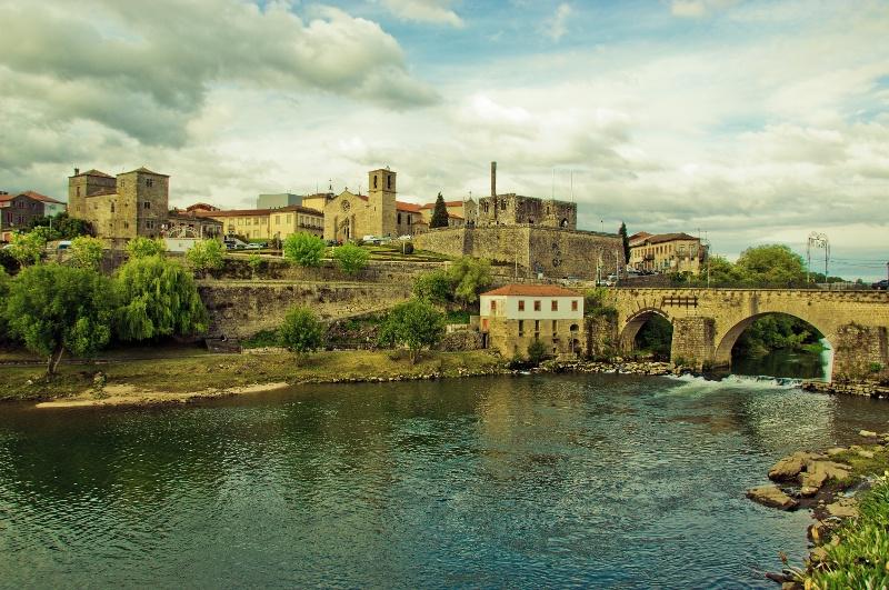 Barcelos: Vista al casco antiguo