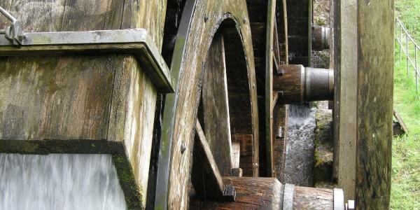 Mühlrad Museumsmühle am Weiler