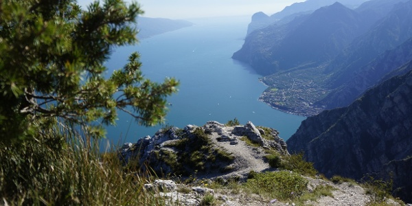The view from Punta Larici