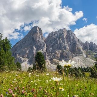 Enjoy views over Monte Putia
