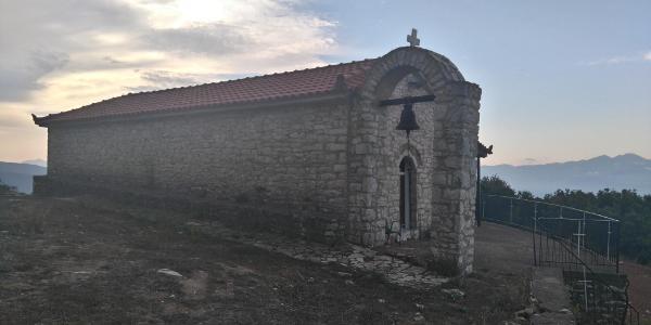 die kleine Wallfahrtskirche Pr. Elias