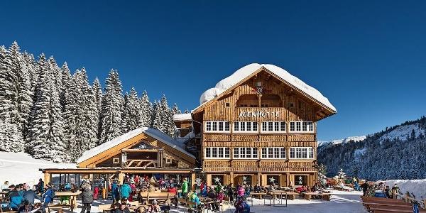 Alpin Lodge Auenhütte Winter