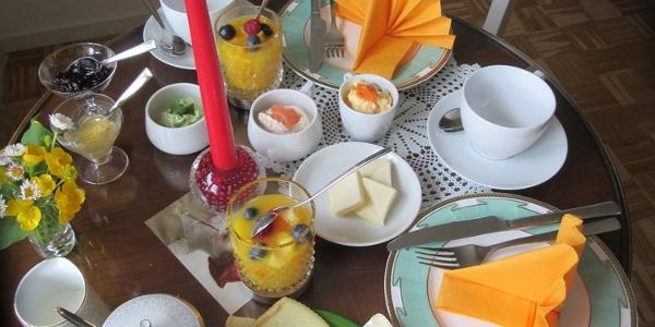 Frühstück in Fräulein Idas Café