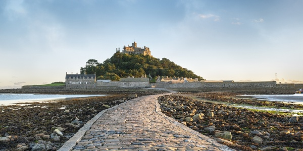 Walk along the St Michael's Way to Marazion, where you can see St Michael's Mount