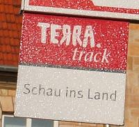 TERRA.track-Schild