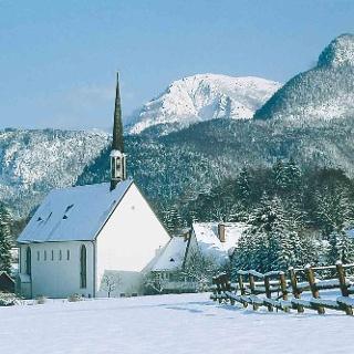 Kirche Bayerisch Gmain