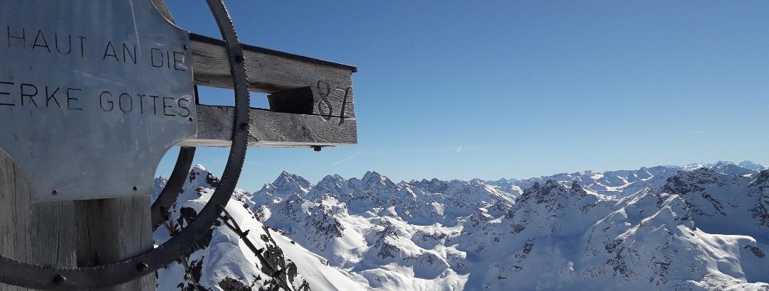 Rotbühelspitze Gipfel
