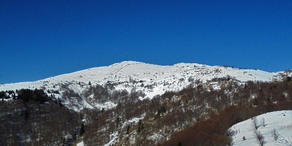 The Italian side of the mountain offers views of the destination