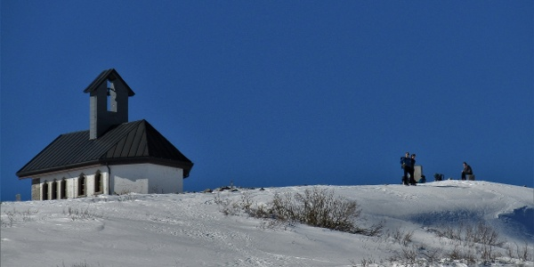 Chapel on Mt. Matajur