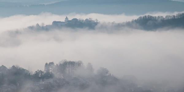 Bald löst der Nebel sich auf und …