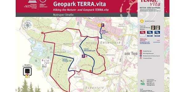 TERRA.track Butterberg - Auszug Schautafel Natruper Straße