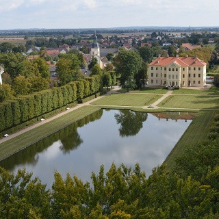 Palais mit Barockgarten