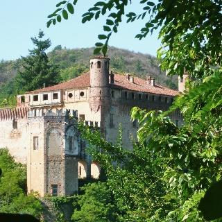 Das Castello von Verzuolo.