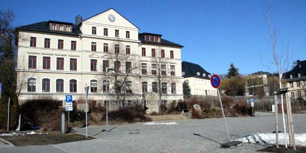 Marktplatz Burkhardtsdorf